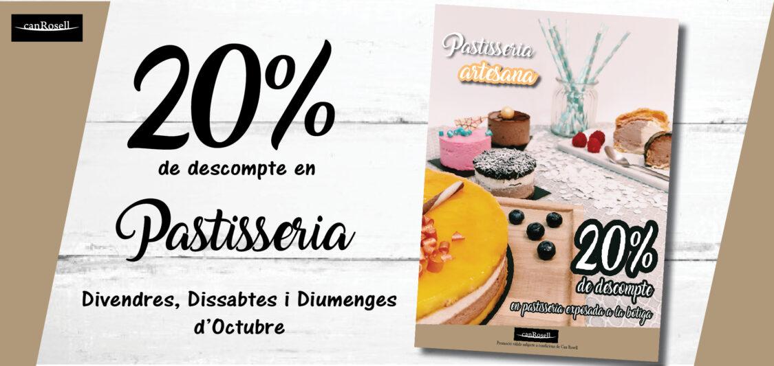 20% pastisseria